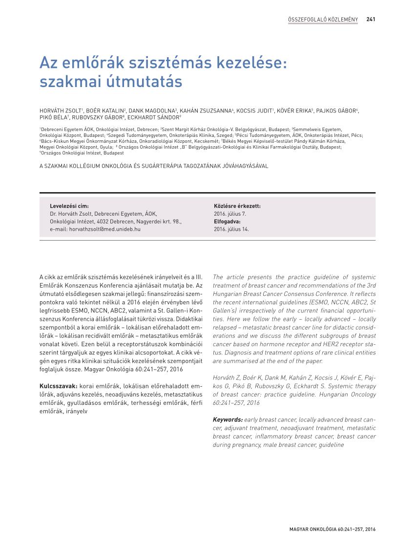 Mit jelent az emlőrák HER2-státusza?