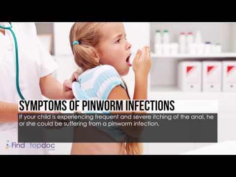 pinworms kétéves gyermekeknél