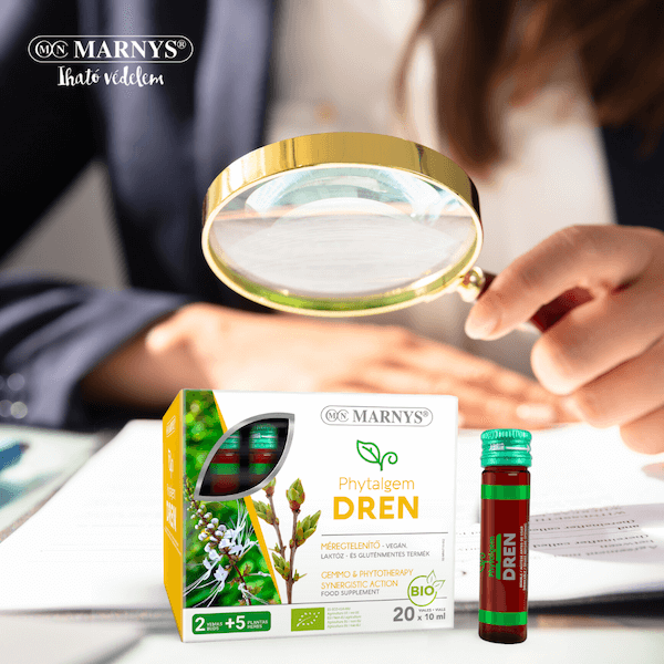 Zöld egészség - A méregtelenítő Marnys Phytalgem Dren és a z